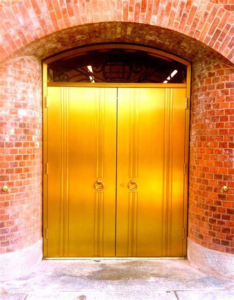Golden Doors by Gold Door Of Ny Gold Doors