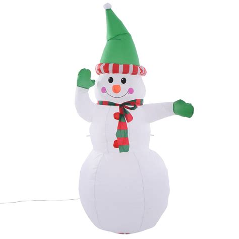 5ft airblown inflatable christmas decor snowman gemmy