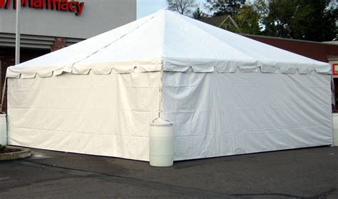 Awning Side Walls by 20 X 20 With Walls Rental Ca