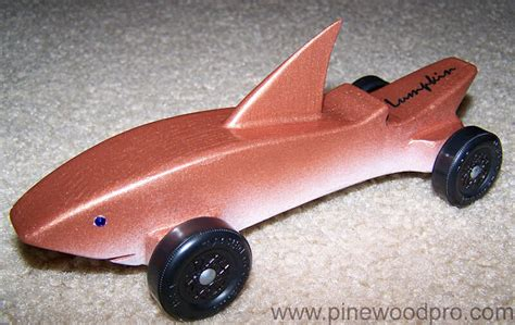 pinewood derby shark template pin by braun on awana cars derby cars