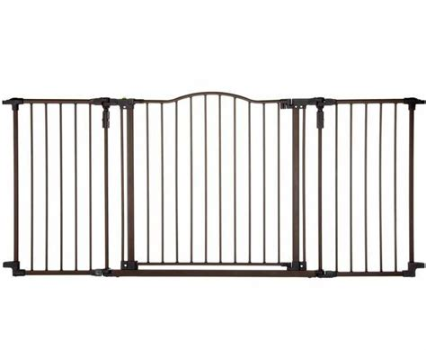 wide dog gates for the house best dog gates for the home tip junkie