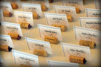 wine cork name card holders diy cork place card holders weddingbee