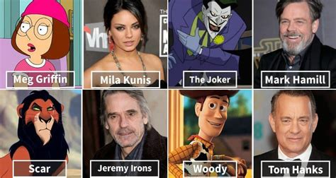 actor cartoon voices 13 iconic cartoon characters and the actors who voiced