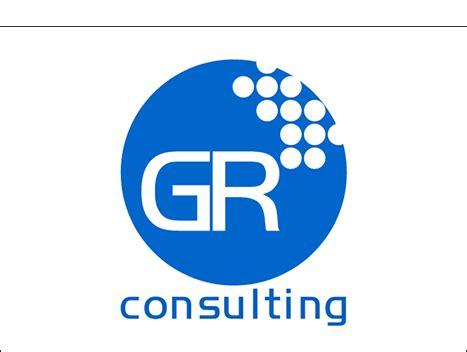 Logo designs - GR Consulting - Metacosm Portfolio G R Logo