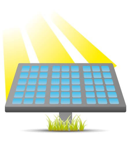 Free To Use Public Domain Solar Panel Clip Art