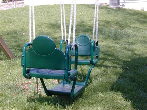 gliders for swing sets swing set accessories for your outdoor swing set or play set