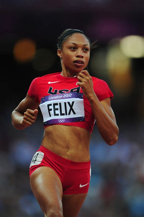 Allyson Felix Body | quot fat quot female olympians the boneyard