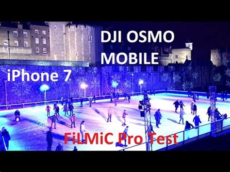 dji osmo mobile iphone 7 test filmic pro by
