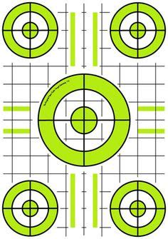 printable varmint targets targets for download and printing within accurateshooter