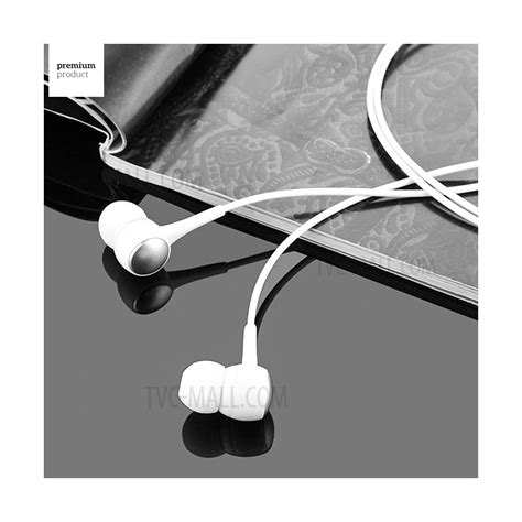 Hoco M19 Earphone With Mic hoco m19 3 5mm in ear earphone with remote and mic for iphone samsung xiaomi etc white tvc