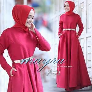 Baju Dress Wanita Mayra Dress mayra jual busana muslim
