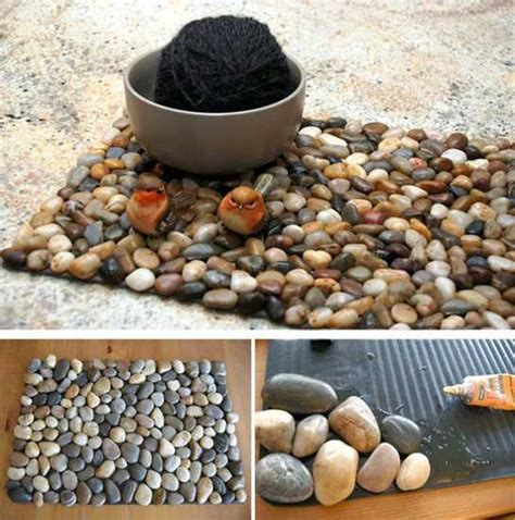 home stones decoration creative craft ideas making home decorations with beach