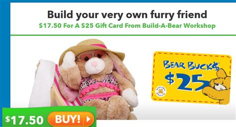 Do Build A Bear Gift Cards Expire - saveology 25 build a bear gift card for just 17 50 kroger krazy