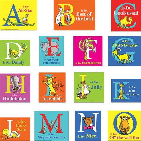 dr seuss printable alphabet letters dr seuss abc mini bulletin board set