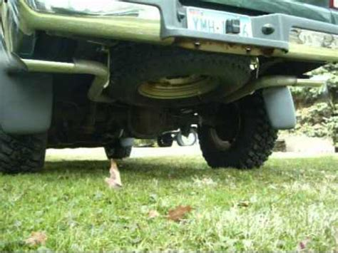 2000 ford ranger exhaust 2000 ford ranger dual exhaust with a delta flowmaster