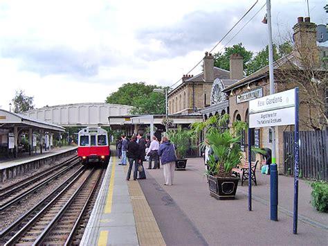 Kew Gardens Station by Kew Familypedia