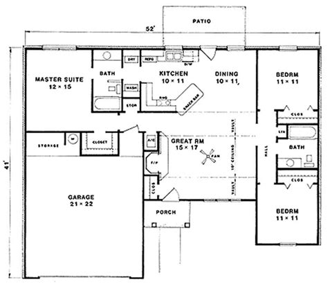 mediterranean ranch house plans traditional mediterranean ranch house plans home design vl 1243 11197