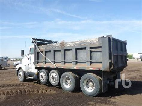 first kenworth truck 1995 kenworth dump trucks for sale used trucks on