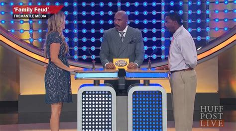 Woman Can T Believe Her Own Family Feud Response Aol Com How To Make Your Own Family Feud On Powerpoint