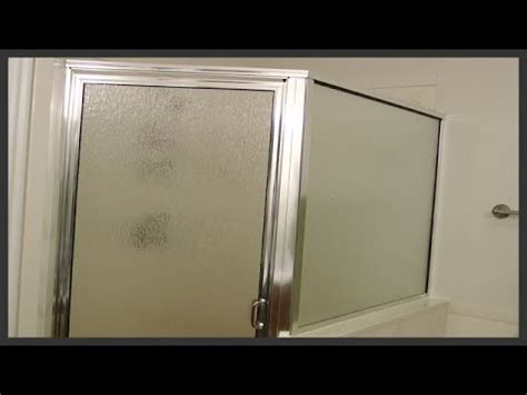 Shower Door Replacement Youtube Shower Door Frame Replacement