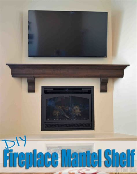 How To Install Fireplace Mantel Shelf by Diy Fireplace Mantel Shelf Tool Belt