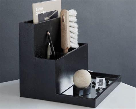 oak desk organizer oak pen holder desktop organizer by dam studio