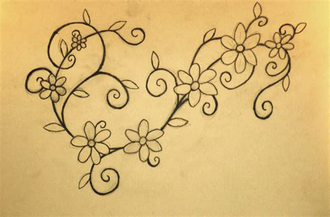 flower chain tattoo designs 1000 images about tattoos on chain