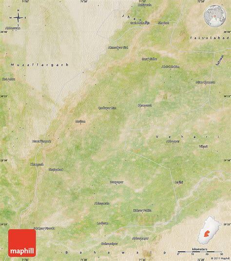 pakistan map satellite satellite map of multan