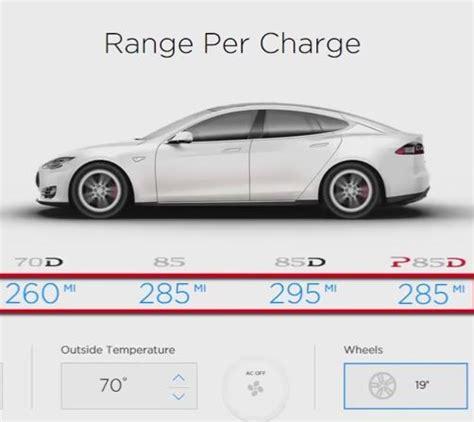 tesla s range tesla model s range per charge simulator