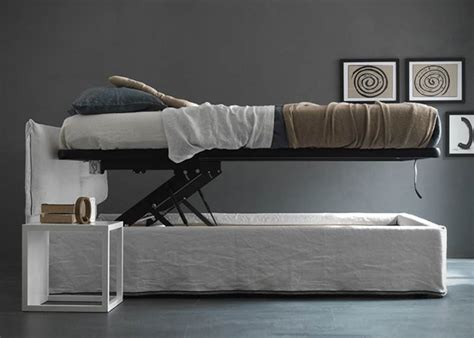 bed that lifts up vertical lift up bed secret storage stashvault