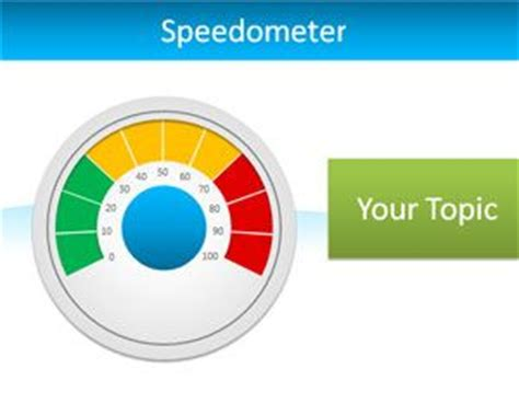 speedometer template editable speedometer powerpoint template