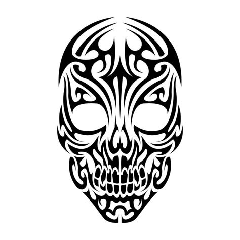 skull with tribal tattoo 40 tribal skull tattoos ideas