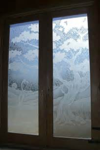 frosted glass doors tree designs sans soucie glass