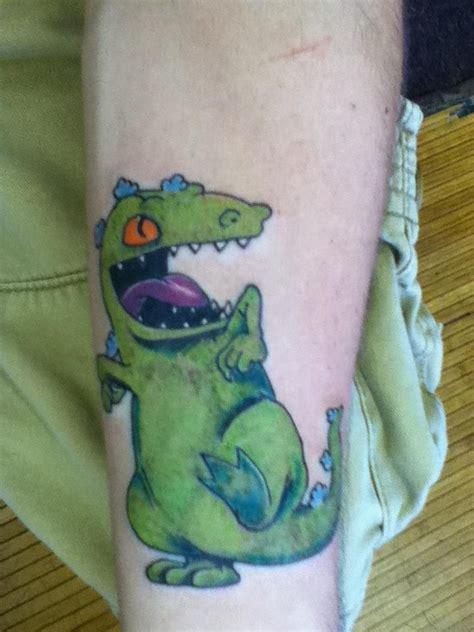 rugrats tattoo rugrats reptar