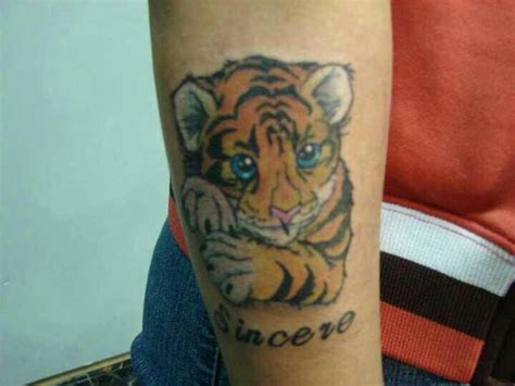 york ink tattoo tiger cub york ink tattoos tigers