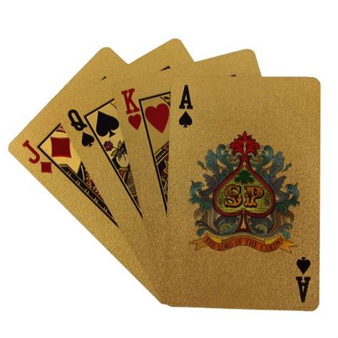 Playing Card Gifts - vintage playing cards deck in 999 9 gold plating unique gift from india desertcart