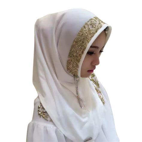 Pearl Scarf chic printed cosy muslim pearl scarf islamic shawl headscarf ebay