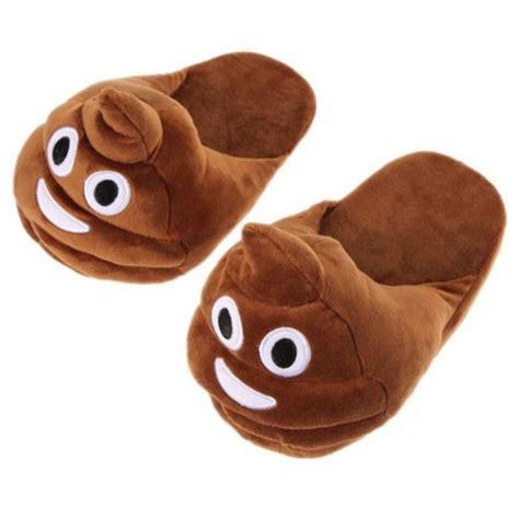 Caca Soft emoji slippers walmart