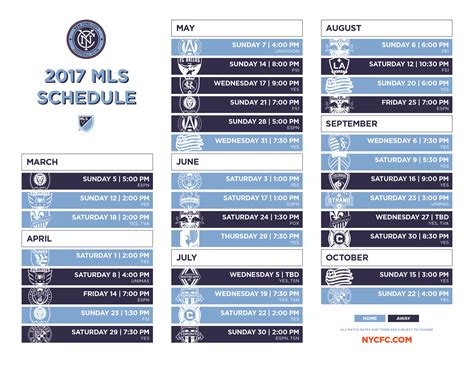 printable philadelphia union schedule download printable schedule