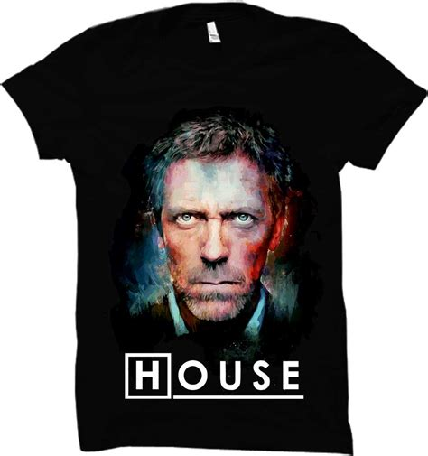 House Md Review by Dr Gregory House Md T Shirt By Wethechic India