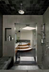Awesome Bathroom Designs Modern Bathroom Design With Glass Door