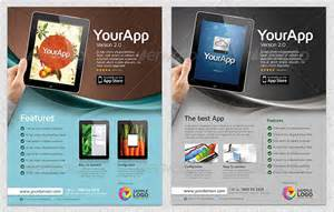 Mobile App Site Template by 30 Effective Web Mobile Apps Flyer Psd Templates Web