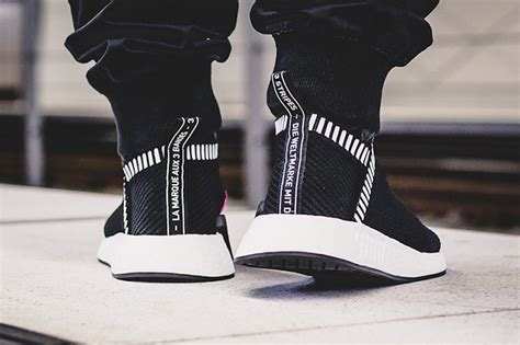 Adidas Nmd City Shock Black adidas nmd city sock 2 shock pink release date sneakerfiles