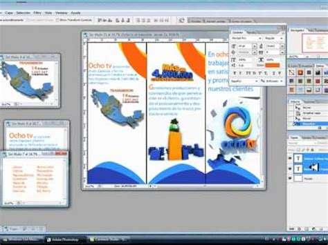 como hacer un trifolio en adobe illustrator o photoshop tutorial flyer o tr 205 ptico de ventas photoshop wmv youtube