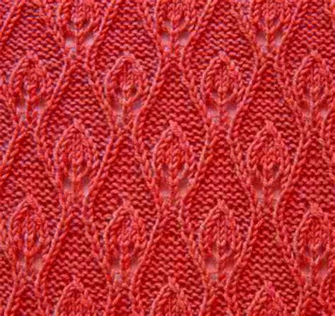 lace pattern name flame knitting stitch lace pattern knitting kingdom