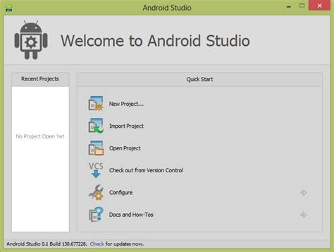 android studio http tutorial it stuff how to start android studio windows 8 64bit