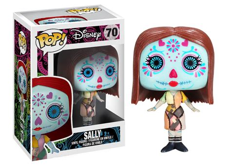Retired Search Pop Disney The Nightmare Before Day Of The Dead Vinyl Figure Sally 70