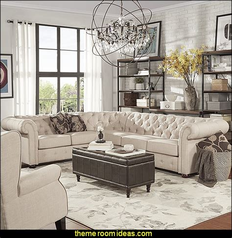 industrial chic home decor decorating theme bedrooms maries manor loft style