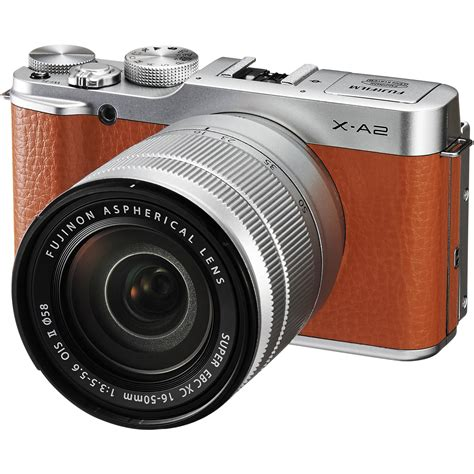 fujifilm frame mirrorless fujifilm x a2 mirrorless digital with 16 50mm 16455130