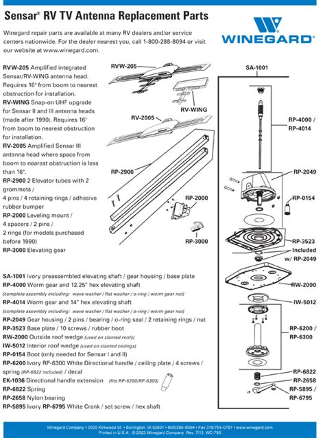 winegard rv satellite wiring diagrams get free image